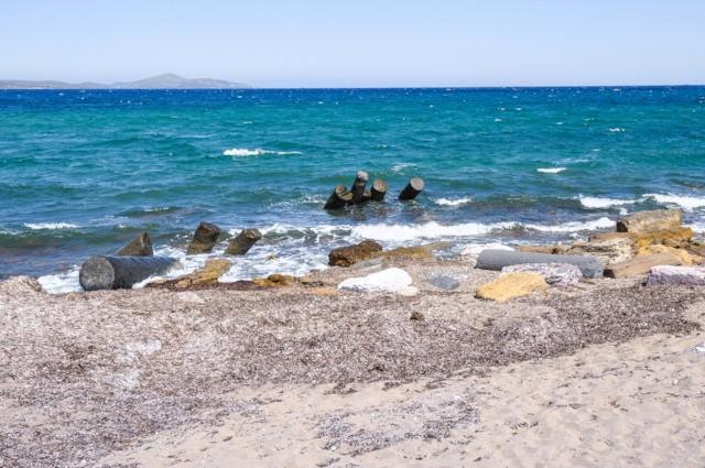 Columns in Aegean