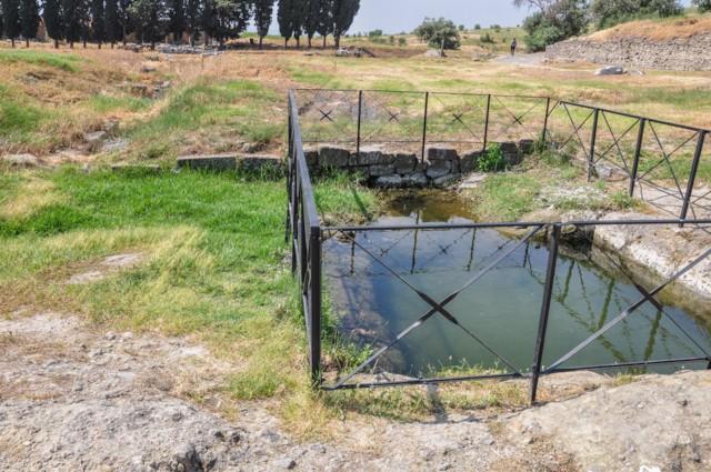 Pool Mud Bath
