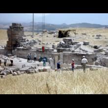 Excavation Near Church