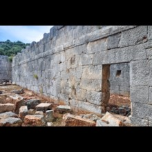 Granary Interior Wall