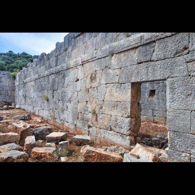 Granary Interior Wall
