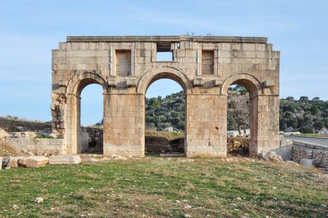 Gate of Mettius Modestus