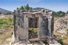 Roman Temple Front