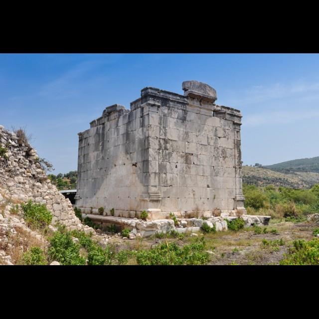 Roman Temple Rear