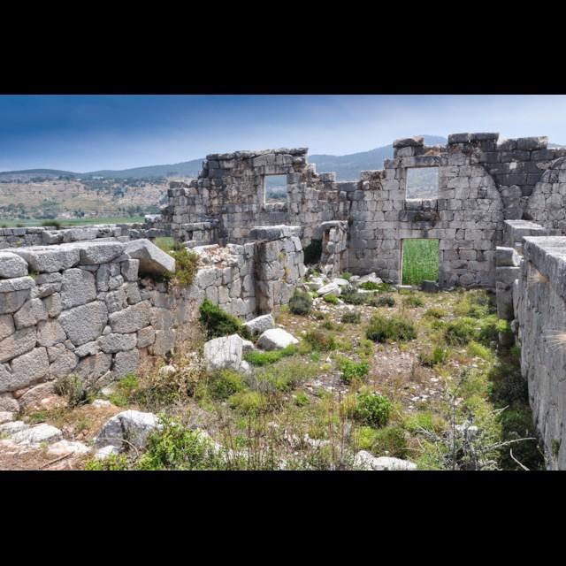 Granary of Hadrian Interior