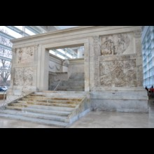 Ara Pacis Front