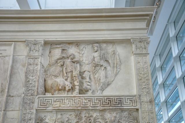 Aeneas Sacrificing a Sow