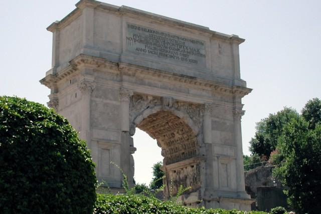 Arch of Titus Exterior 2