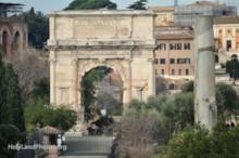 Arch of Titus Exterior 1