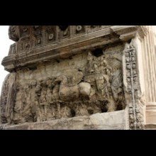 Arch of Titus Chariot and Titus