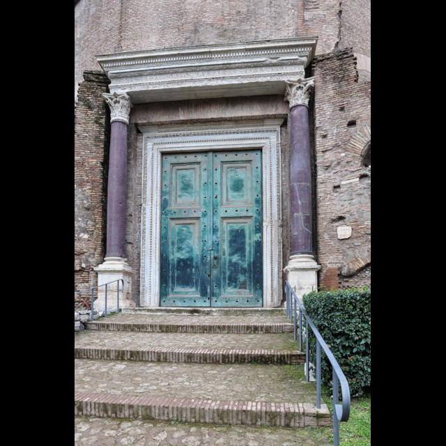 Temple of Romulus Doors