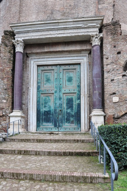 Temple of Romulus Doors