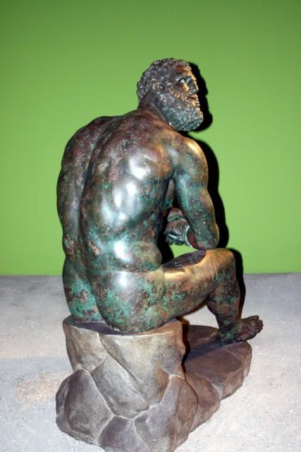 Boxer at Rest (Back)
