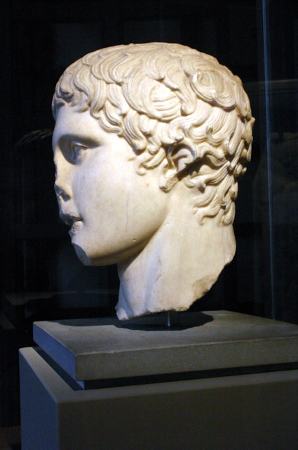 Doryphoros Head