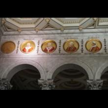 Mosaics of Popes