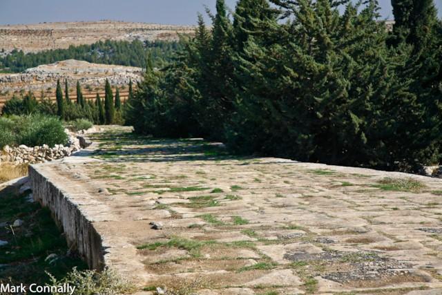 Roman Road in Syria