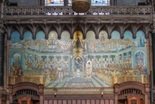 Mosaic 1 in Notre-Dame de Fouirvière