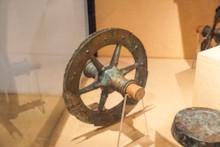 Ceremonial Chariot Wheel