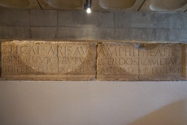 Theater Inscription in Latin