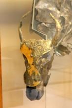 Silver Bull Head