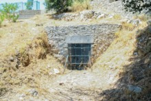 Tunnel of Eupalinos Entrance