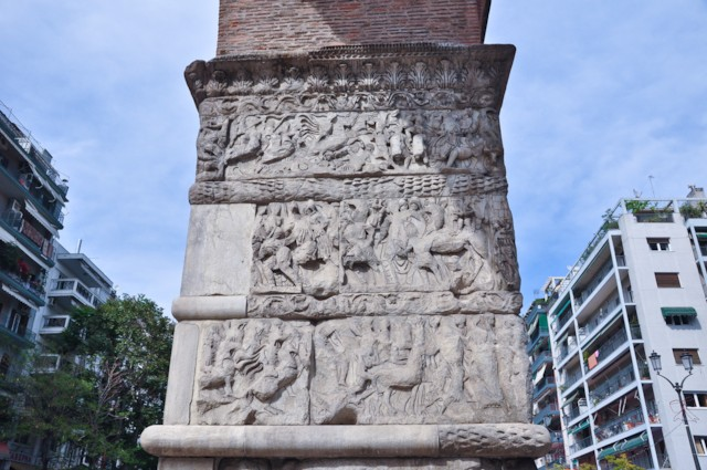 Arch of Galerius Detail 2