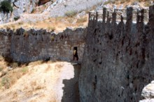 Wall of the Acrocorinth