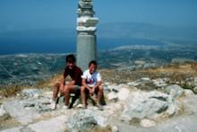 Temple of Aphrodite on Acrocorinth