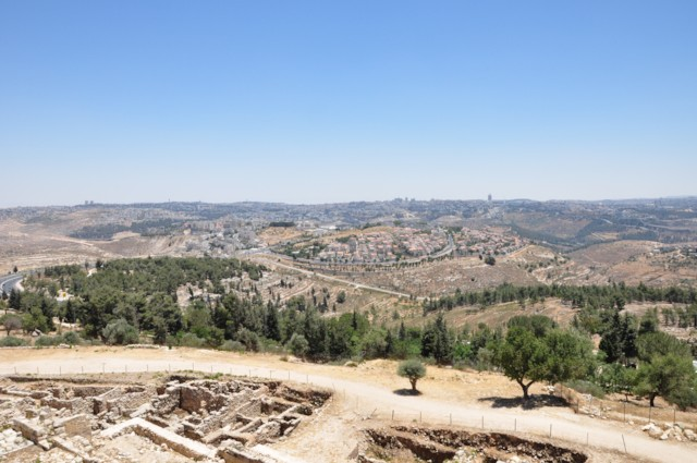 View to Jerusalem