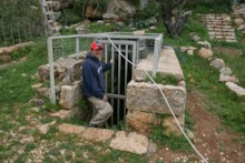 Entrance to Biyar Aqueduct