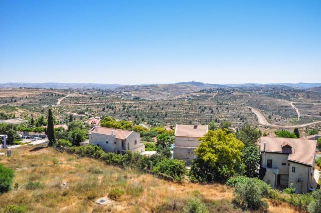 View to Nebi Samwil