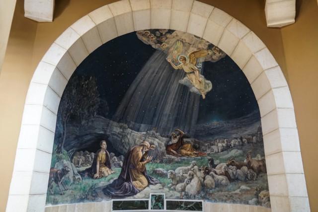Chapel Shepherds in Field