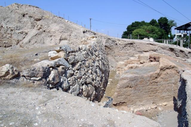 Jericho Revetment Wall