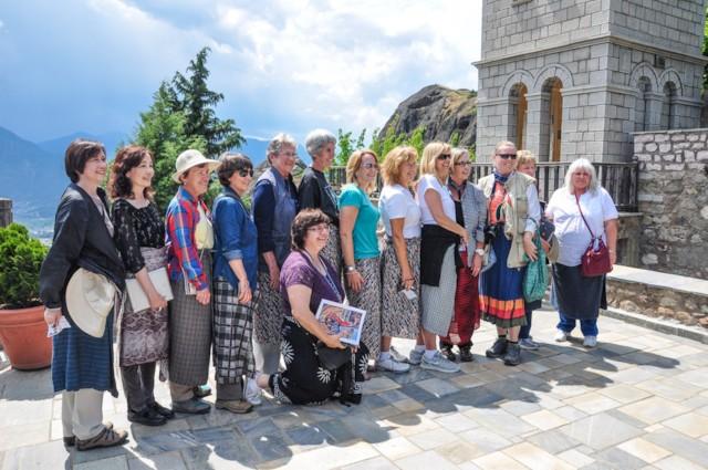 Visiting Varlaam Monastery