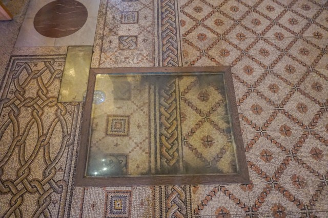Floor Mosaic Old