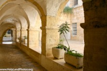 Franciscan Courtyard 2