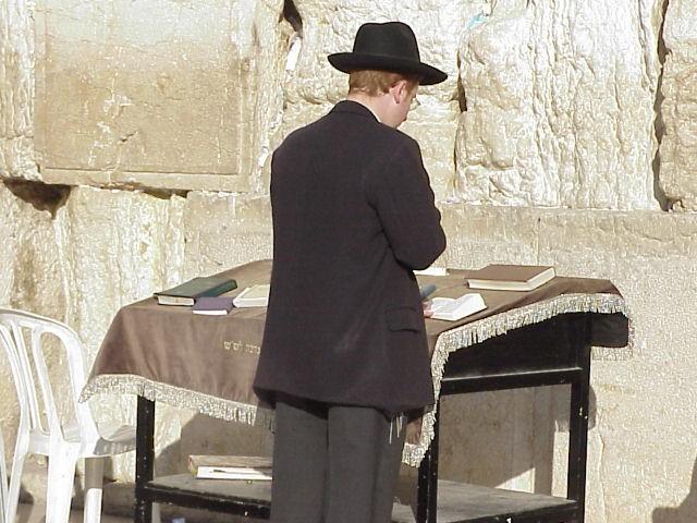 Orthodox Jew Praying (2)