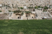 First Temple Tombs - West Wall