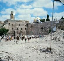 Western Wall After Six Days War