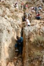 Descending the Cliff