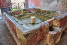 Fullonica Fresh Water Tub