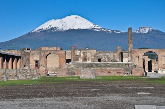 Temple of Jupiter and Vesuvius