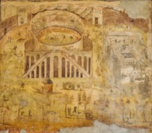Amphitheater Ancient Painting
