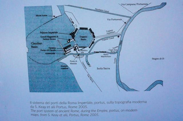 Plan of Portus