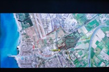 Modern Map of Portus