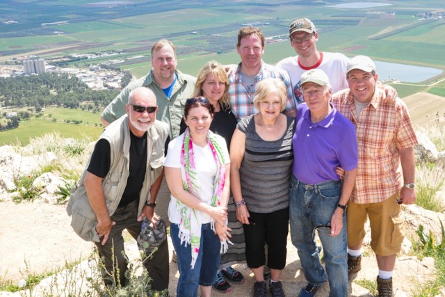 High Above the Jezreel Valley