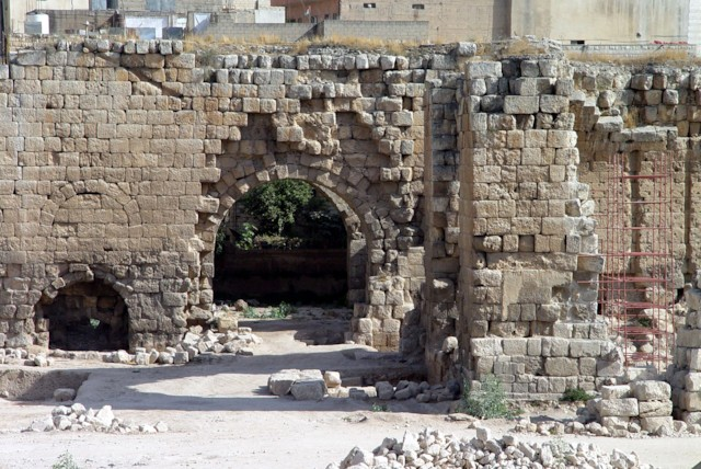 East Baths Entrance