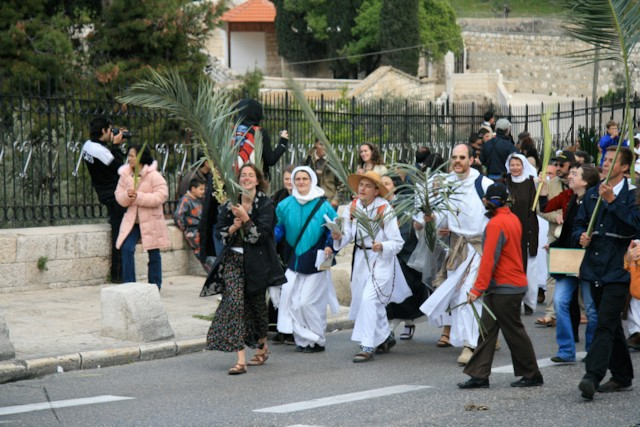 Pilgrims in Procession 1