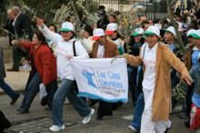 Philippine Christians in Procession