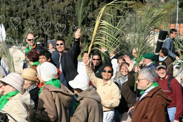 Pilgrims in Procession 4